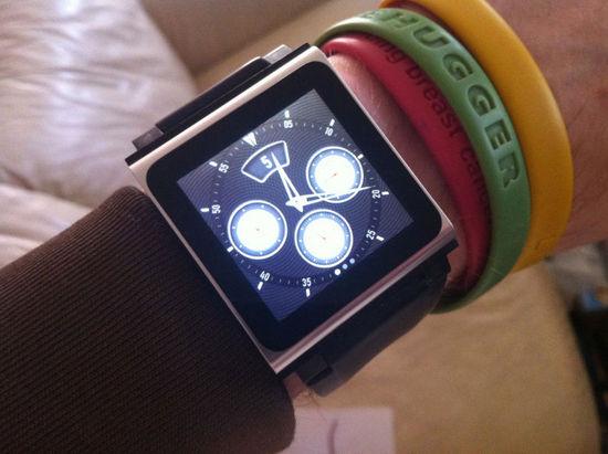 Apple Watch设计灵感或来自第六代iPod Nano