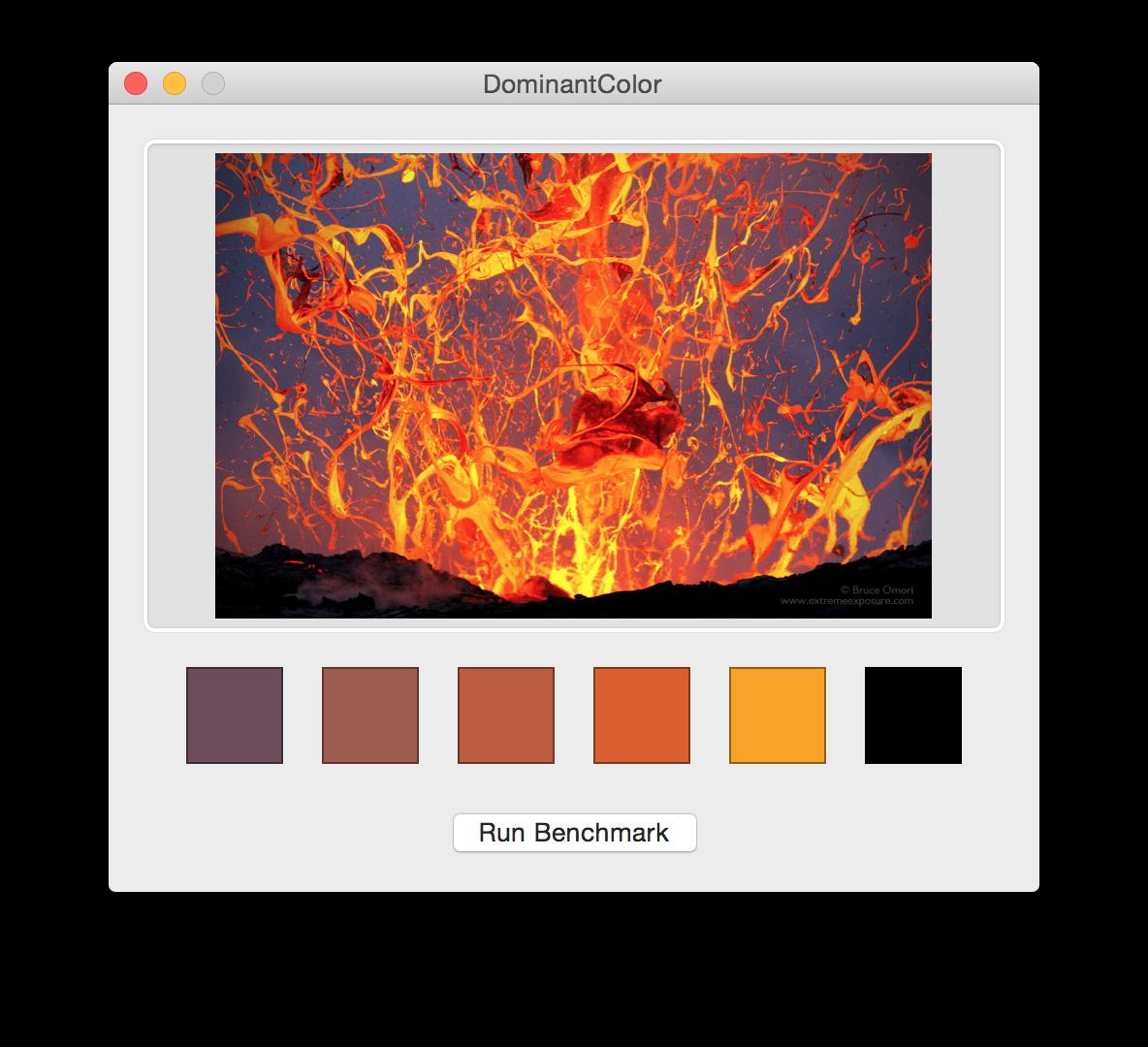 Swift实现的图片主色提取项目DominantColor
