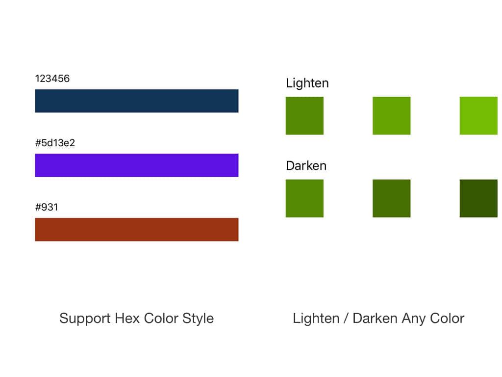 Swift轻量且强大的颜色处理库BCColor